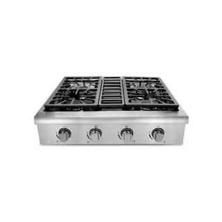 Thor Kitchen HRT3003U 30 Inch Wide Built-In Gas Rangetop with Automatic Re-Ignit