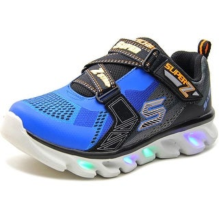 Skechers Hypno Flash Youth Round Toe Canvas Blue Sneakers