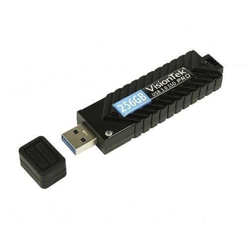 """VisionTek 256GB USB 3.0 Pro SSD Flash Drive Storage"""