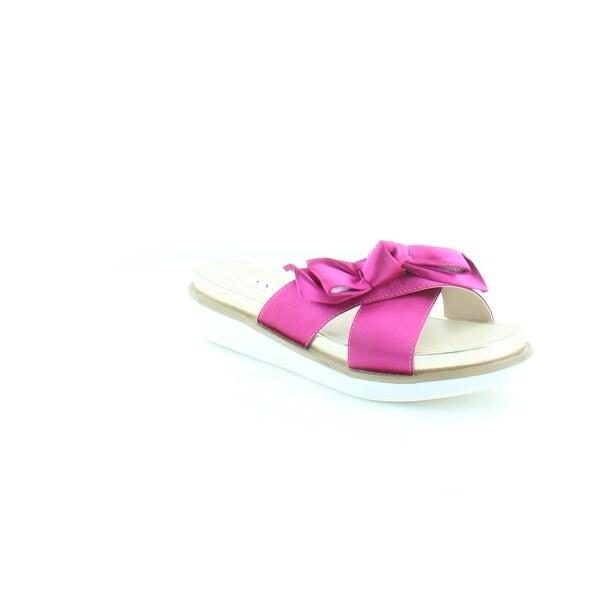 Nina Garda Women's Sandals & Flip Flops Magenta - 7.5