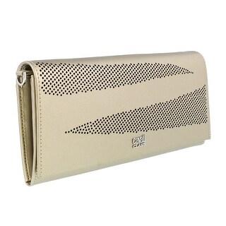 Class Roberto Cavalli CityZebra 810 Platinum Wallet On a Chain