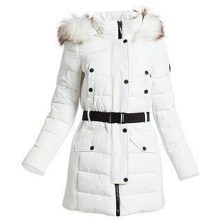 Link to Michael Kors Active White Scuba Belted Coat Similar Items in Jackets