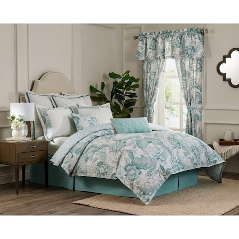 Kensington 4-piece Floral Comforter Set
