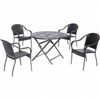 Hanover ORLDN5PC-BRN Orleans 5 Piece Dining Set