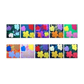 Flowers Suite by Andy Warhol Art Prints