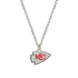 Cleanlapsports Kansas City Chiefs Logo Pendant Necklace