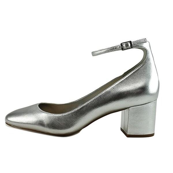 Aldo Womens Clarisse-91 Round Toe Ankle Strap Classic Pumps