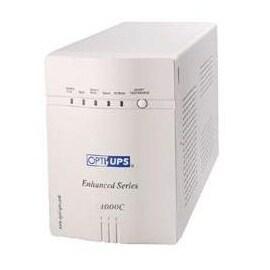 Opti-UPS ES1000C 8-Outlets ES1000C 1000VA 700W 1050JOULES Automatic Voltage Regulator AVR J11 RJ45