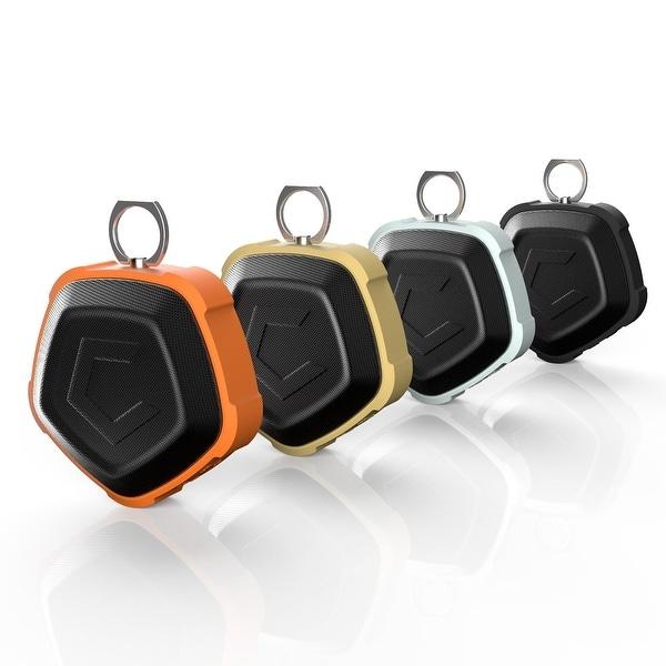 CobblePro Outdoor Pentagon Wireless Bluetooth 4.2 Portable Dustproof/ Waterproof Speaker with Built-in Microphone