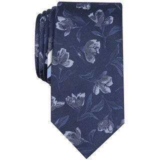 Link to bar III Mens Park Floral Self-tied Necktie, blue, One Size - One Size Similar Items in Ties