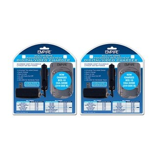 Charger for Panasonic DVUPAN1R1 (2-Pack) Replacement Charger
