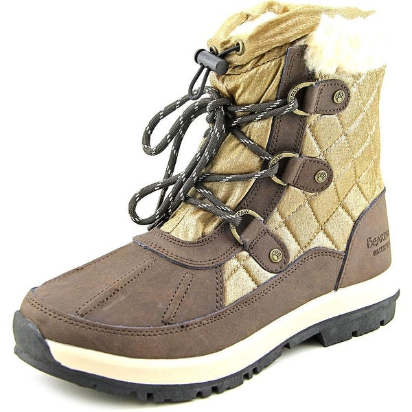 Bearpaw Bethany Women Round Toe Suede Bronze Winter Boot