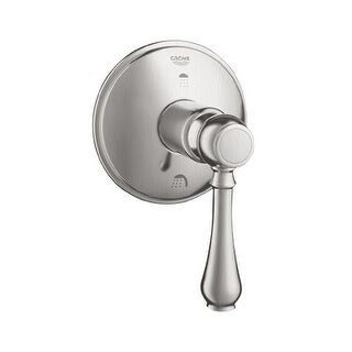Grohe 19 220 Geneva 3-Port Diverter Valve Trim Only with Lever Handle