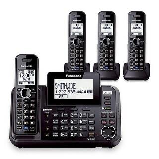 Panasonic KX-TG9544B (KX-TG9542B + 2 KX-TGA950B)4-Handset Corded/ Cordless System (2 Line) DECT 6.0