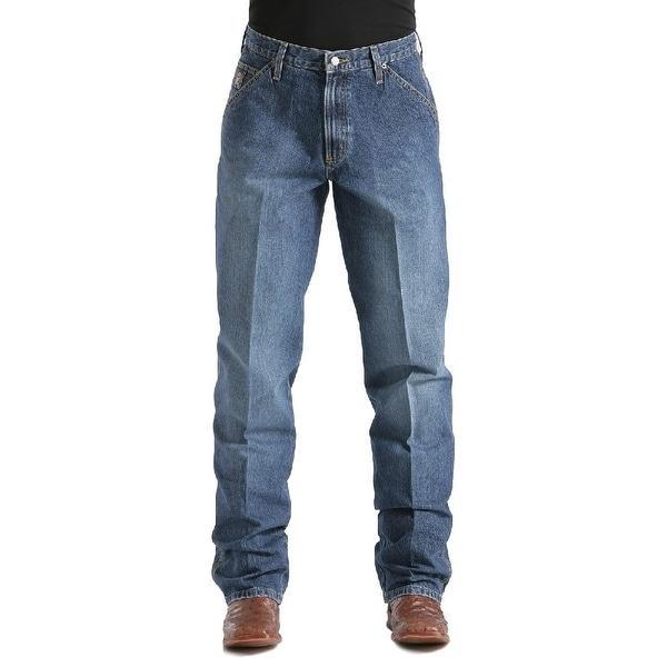 Cinch Western Denim Jeans Mens Blue Label Loose Medium Wash. Opens flyout.