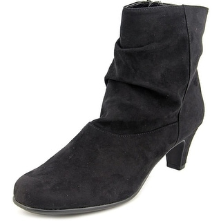 A2 By Aerosoles Play Bill Women  Round Toe Synthetic Black Ankle Boot