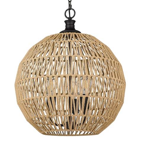 Golden Lighting Florence 3 Light Pendant