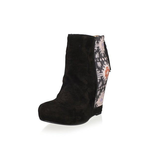 Ella Moss Womens janelle Closed Toe Ankle Fashion Boots