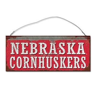 University of Nebraska Huskers Small Tin Sign