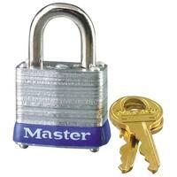"Master Lock 1D Laminated Steel Padlock, 1-3/4"""