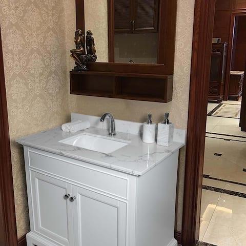 37 Inch Bathroom Vanity Top (Only Vanity Top)