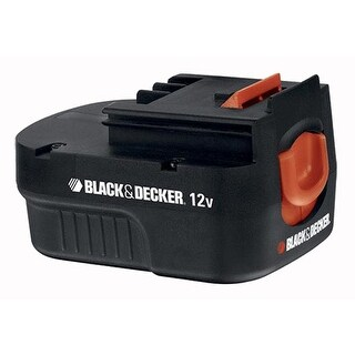 Replacement Battery for Black & Decker HPB12 (Single Pack) Replacement Battery
