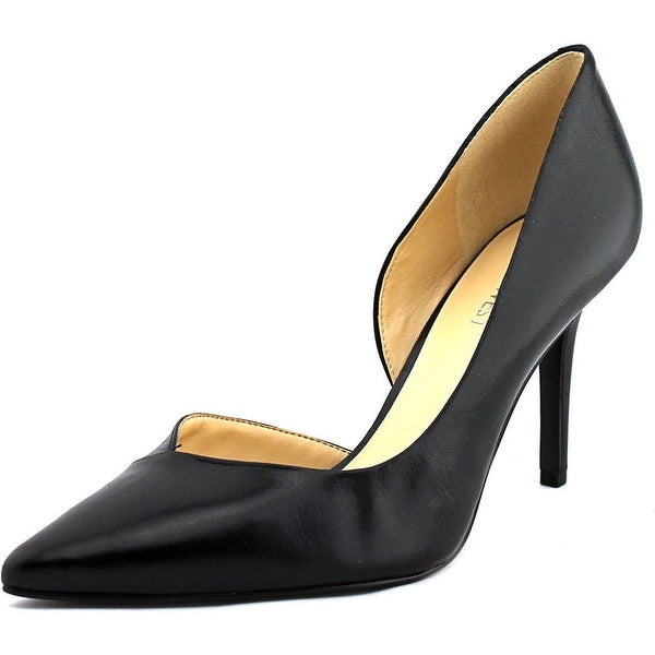 Nine West Jowzer Womens Black Pumps