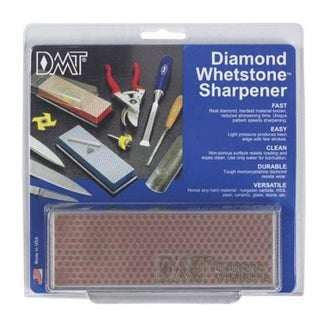 "DMT W6FP Diamond Whetstone Sharpener 6""x2""x3/4"""