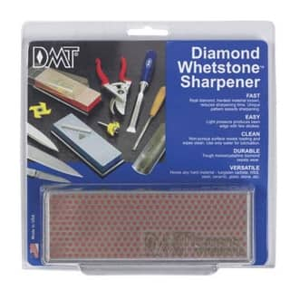 "DMT W6FP Diamond Whetstone Sharpener 6""x2""x3/4""
