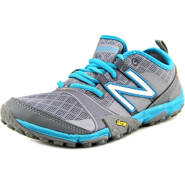 New Balance WT10 Women D Round Toe Synthetic Gray Trail Running