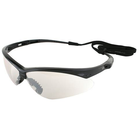 Jackson 3000357 Nemesis Safety Glass with Black Frame & Indoor/Outdoor Lens