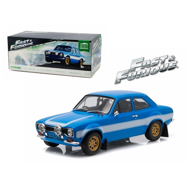 Shop Brian\'s 1974 Ford Escort RS2000 Mk1 Blue With White