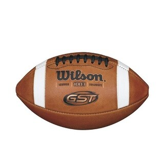 Wilson WTF1003R NCAA 1003 GST Leather Game Football