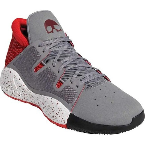 new arrival bce19 caa61 adidas Men  x27 s Pro Vision Basketball Shoe Grey Three F17 Collegiate  Burgundy