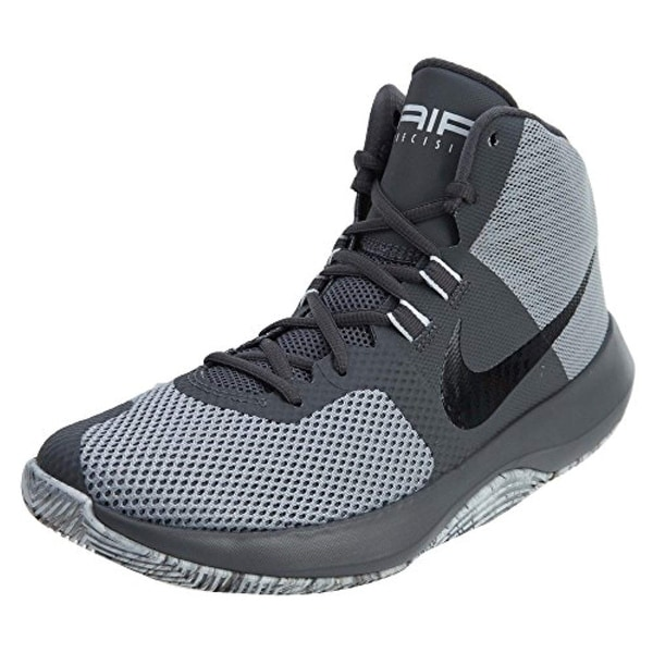 12e680588d0bd Shop Nike Men's Air Precision Basketball Shoes (8.5, Wolf Grey/Black-M) -  Free Shipping Today - Overstock - 27125035
