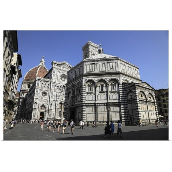 """""""Florence Cathedral, Florence, Tuscany, Italy"""" Poster Print"""