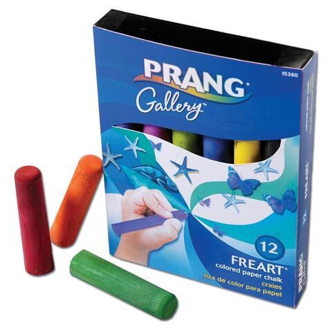Prang prang freart artist chalk 12 color 15360
