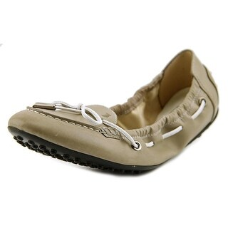 Tod's Ballerina Gomma VW Lacetto Round Toe Synthetic Flats