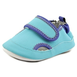 Robeez Wade Infant  Round Toe Synthetic Blue Mary Janes