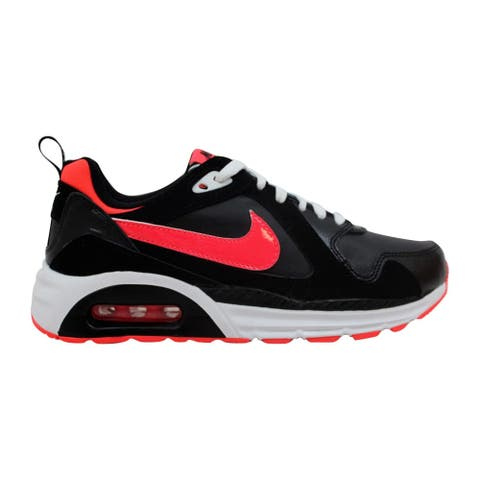 0eab89fb861d Nike Air Max Trax Black Hyper Punch-White 644470-003 Grade-School