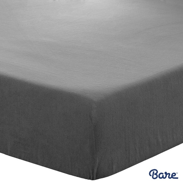 Deep Pocket Twin XL, Plum Premium 1800 Ultra-Soft Wrinkle Resistant Microfiber Bare Home Kids Fitted Bottom Sheet Twin Extra Long Hypoallergenic