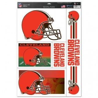 Cleveland Browns Decal 11x17 Ultra