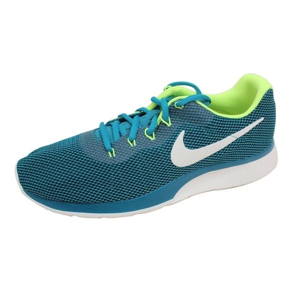 Nike Men's Tanjun Racer Blustery/Sail-Volt 921669-440