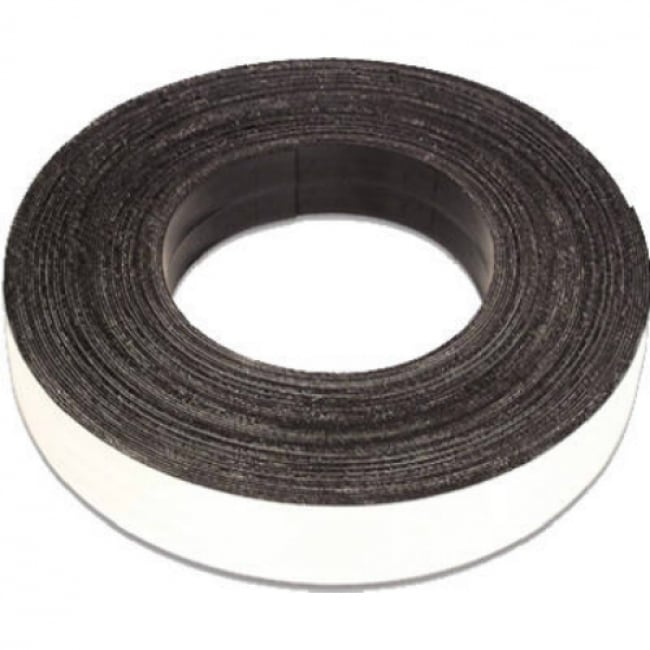 Master Magnetics 07019 Flexible Magnetic Tape w/Adhesive, 1 x 10, Large Roll