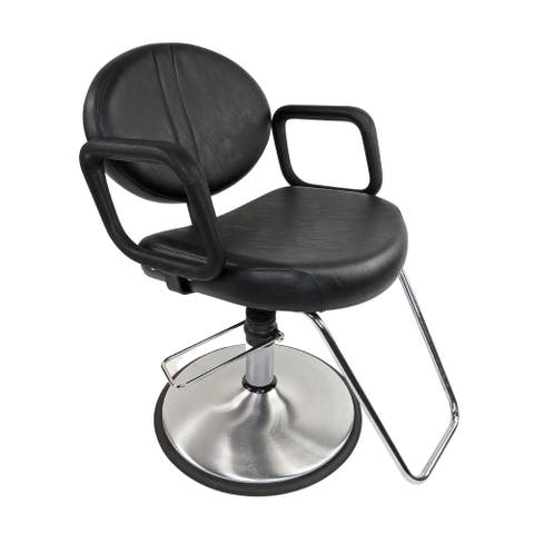 Calcutta Styling Chair by Belvedere, Black