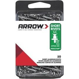 Arrow 3/16X1/8 Alum Rivet