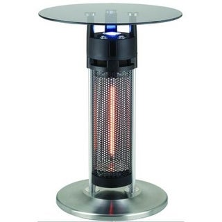 Ener-G+ HEA-14756LED Bistro Table 1400 Watt Infrared Heater with LED Light