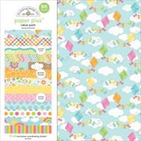"Spring - Doodlebug Paper Plus Value Pack 12""X12"" 8/Pkg"