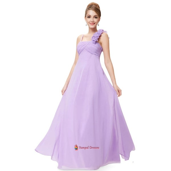 Shop Lavender One Shoulder Bridesmaid Dresses ae422e448ff0