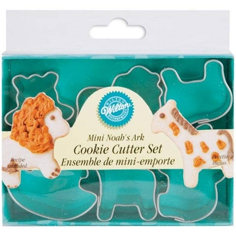 Wilton W2308M-1206 Mini Metal Cookie Cutters 6/Pkg